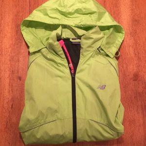 Light weight New Balance rain jacket